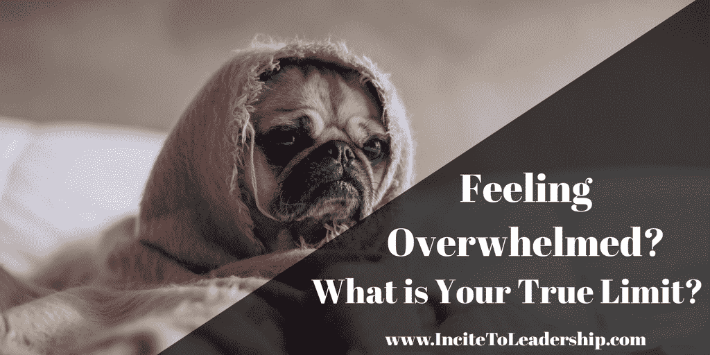 Feeling Overwhelmed? What is YOUR True Limit?