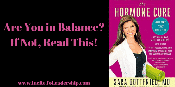Are you in Balance? If not read this!