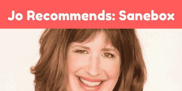 jo recommends sanebox