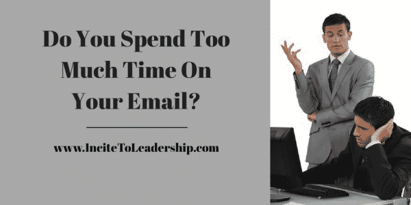 do you spend too much time on email