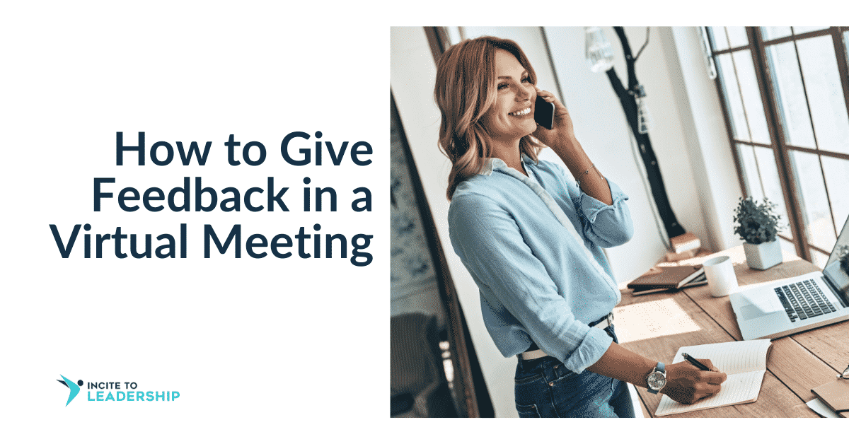 Jo Ilfeld | Executive Leadership Coach| How to Give Feedback in a Virtual Meeting