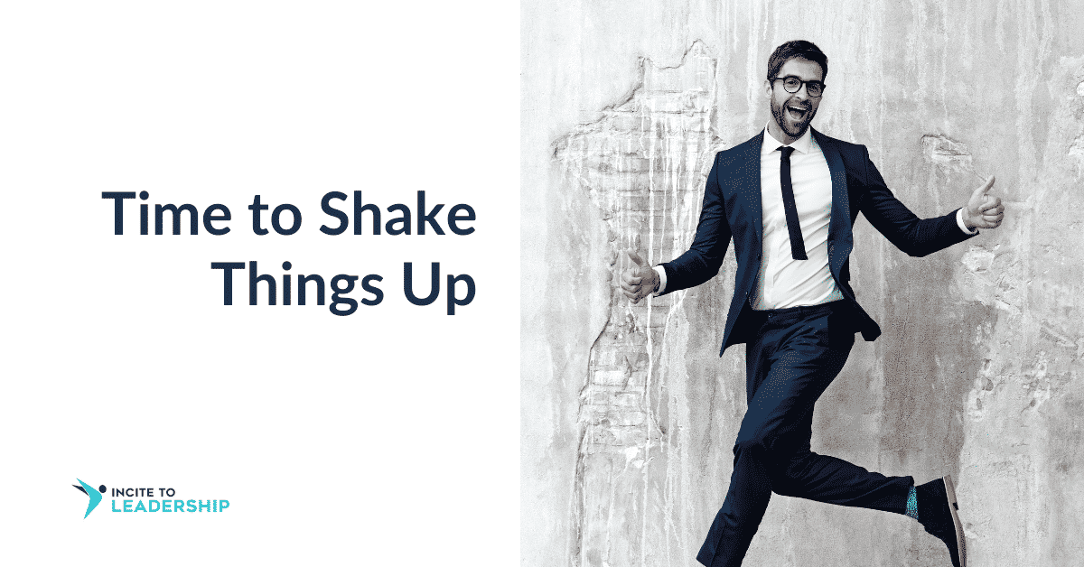 Jo Ilfeld | Executive Leadership Coach| Time to Shake Things Up