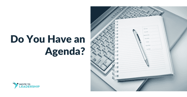 Jo Ilfeld | Executive Leadership Coach| Do you have an agenda?