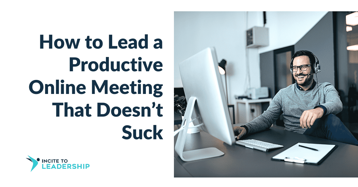 Jo Ilfeld |Executive Leadership Coach|How to Lead a Productive Online Meeting That Doesn't Suck